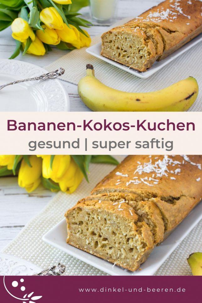 Bananen-Kokos-Kuchen Buttermilch gesund