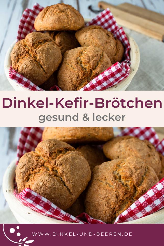 Dinkel-Kefir-Brötchen gesund Vollkorn