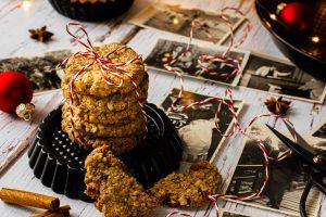 Cashew-Dattel-Kekse Weihnachten gesund vegan glutenfrei zuckerfrei