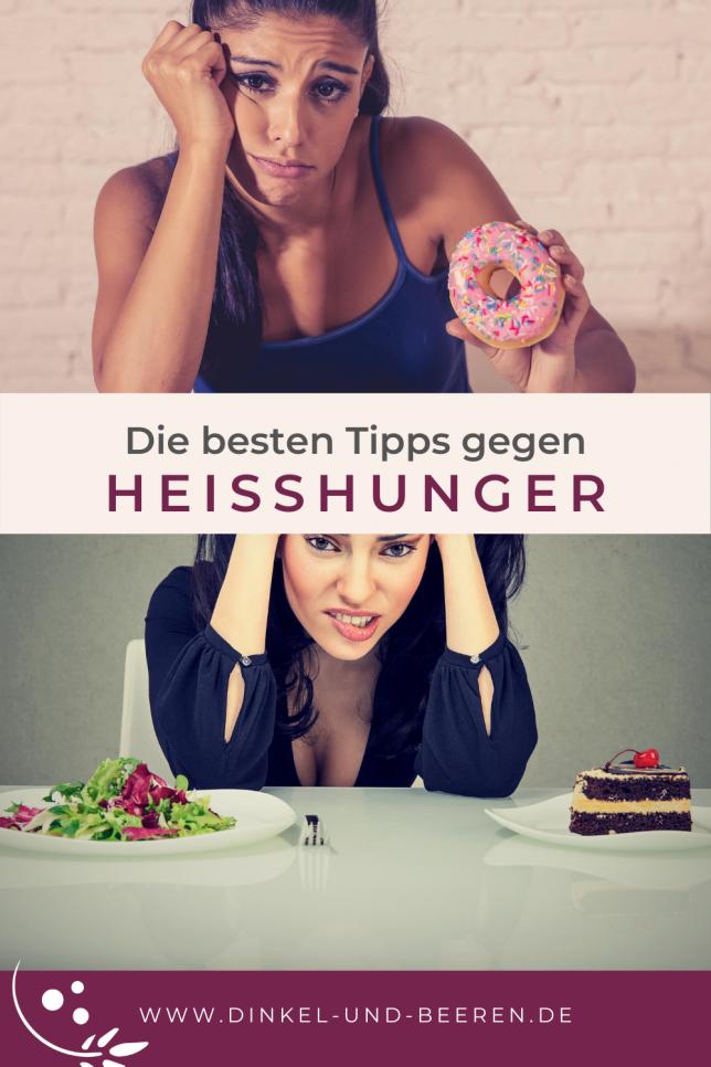 Die besten Tipps gegen Heißhunger