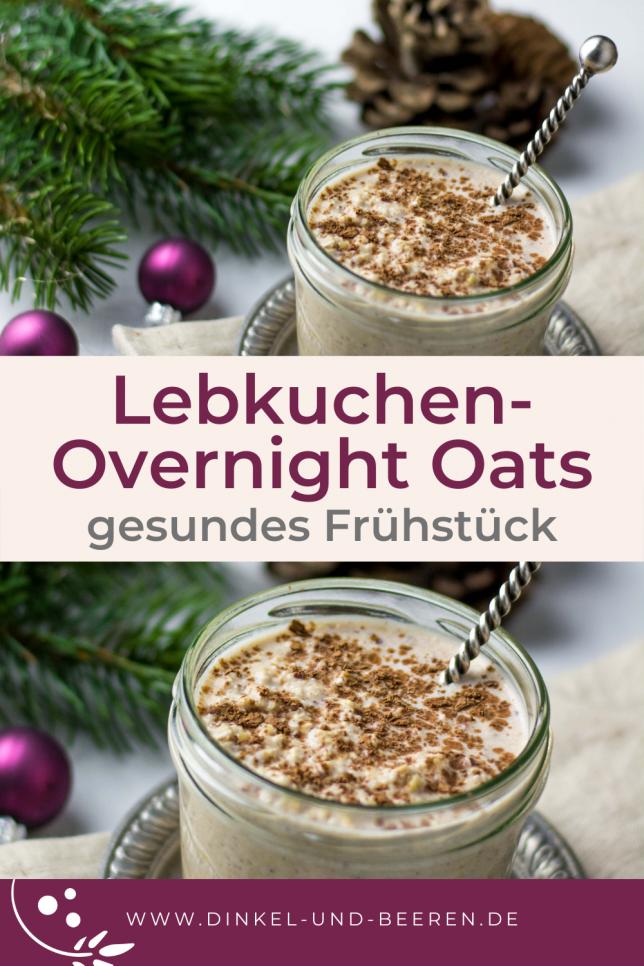Lebkuchen Overnight Oats