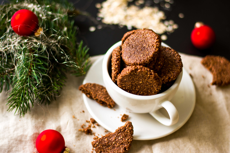 Kakao Mandel Kekse gesund zuckerfrei vegan