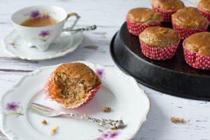 Apfel-Mandel-Muffins ohne Zucker