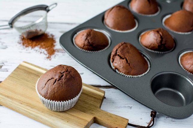 Gesunde Schoko-Muffins ohne Zucker