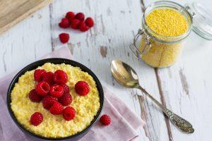 Hirse-Porridge mit Vanille