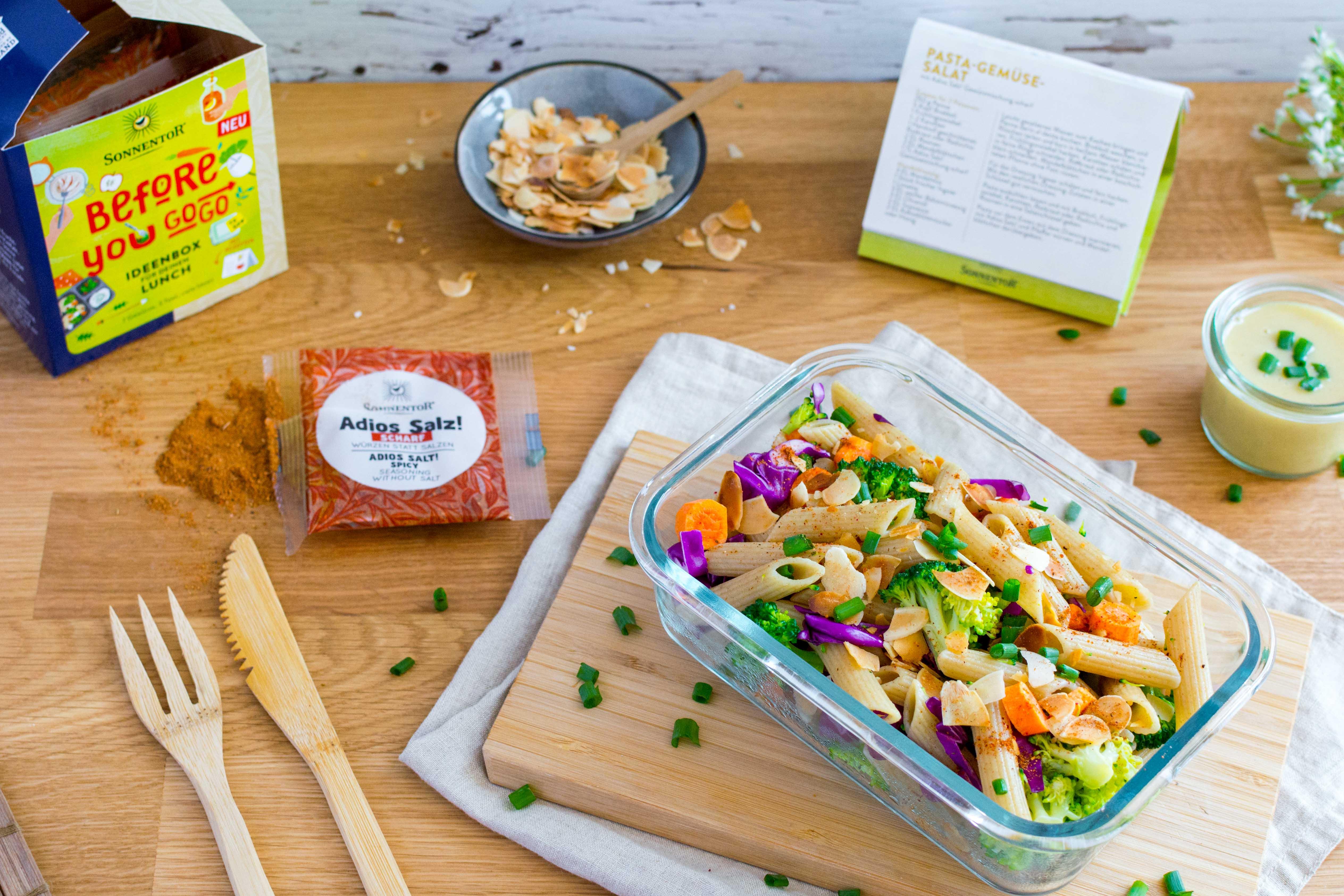SONNENTOR Pasta-Gemüse-Salat