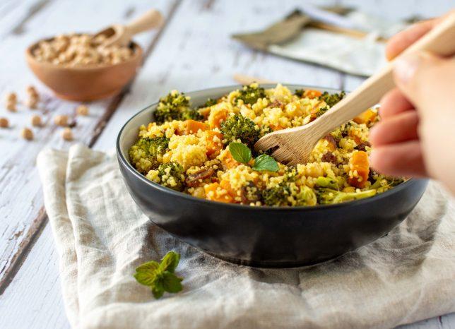 Gesunder Couscous-Salat
