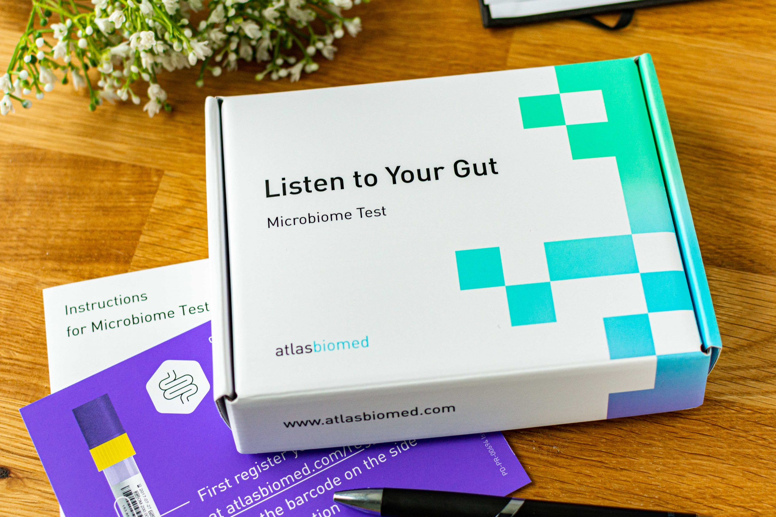 Darm-Mikrobiom-Test Atlas Biomed