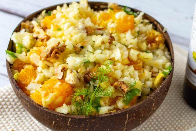 Gesunder Fenchel-Orangen-Salat