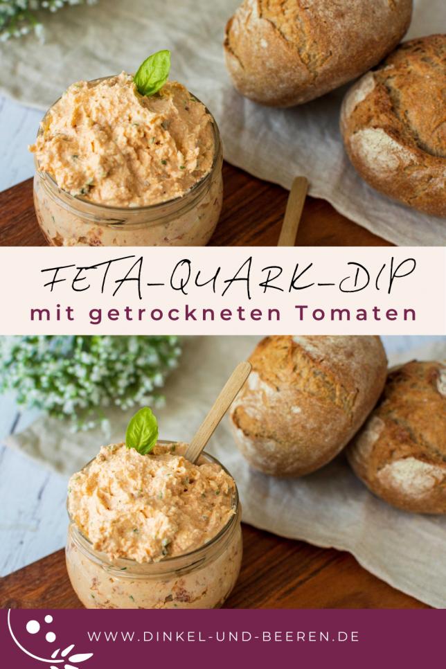 Feta Quark Dip getrocknete Tomaten