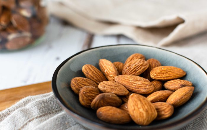 Mandeln gesund Fett Kalorien Snack