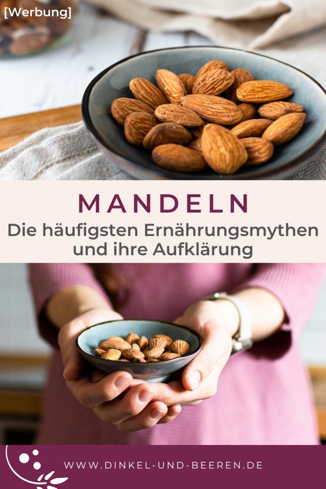 Mandeln Ernährungsmythen gesund