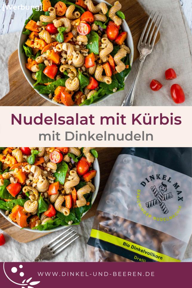 Dinkel-Nudelsalat Kürbis gesund DINKEL MAX