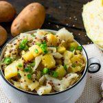 Kartoffel-Wirsing-Eintopf vegan gesund