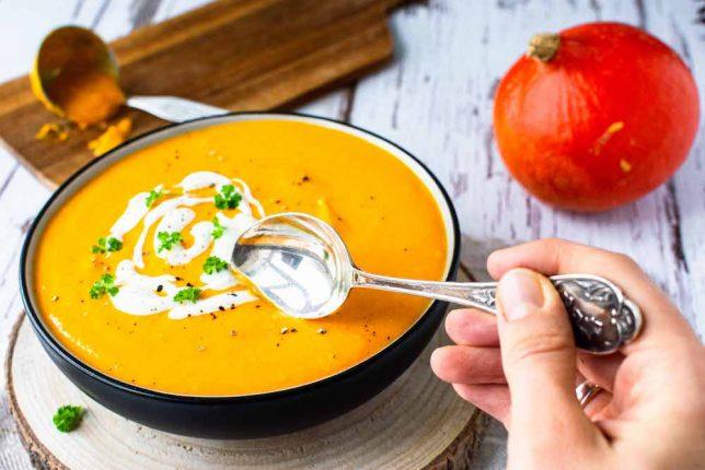 Kürbis-Süßkartoffel-Suppe gesund