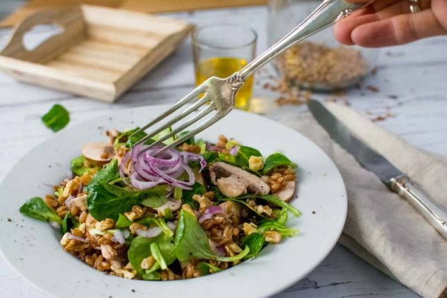 Dinkel-Salat
