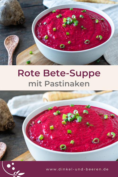 Rote Bete-Suppe mit Pastinaken gesund