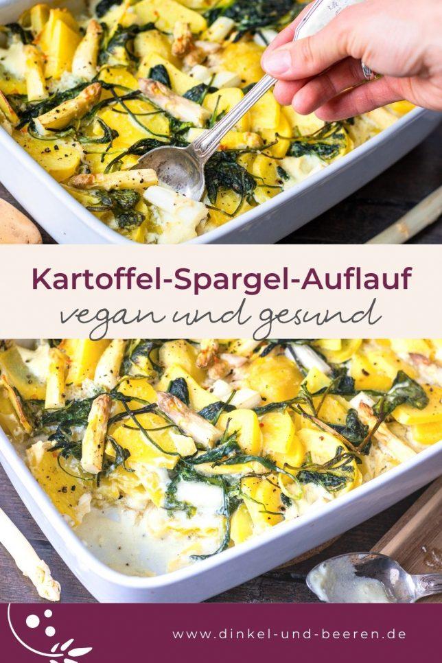 Kartoffel-Spargel-Auflauf gesund vegan vegetarisch glutenfrei