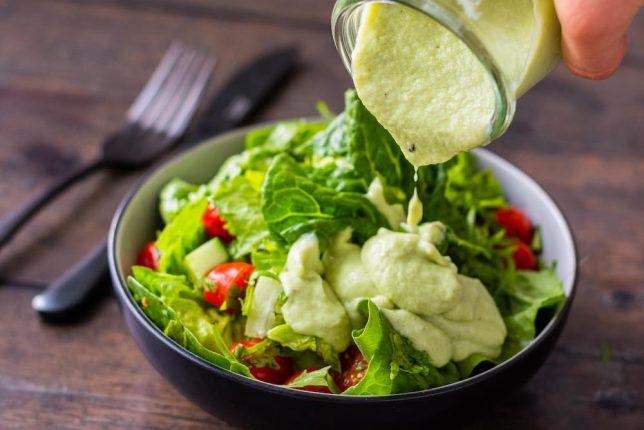 Rezept Avocado-Joghurt-Dressing gesund